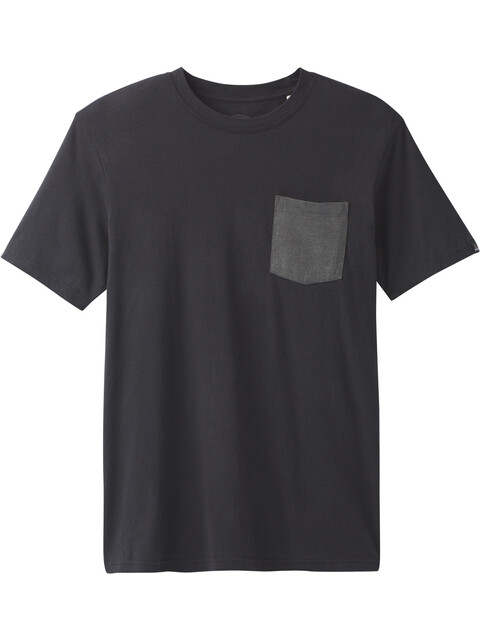 Prana Pocket Tee Men Black